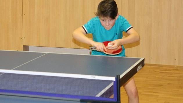 Novoroční turnaj rodinných týmů v DDM Benešov.