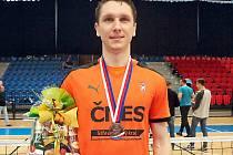Václav Kadeřábek, bronzový medailista z mistrovství České republiky jednotlivců v nohejbale.