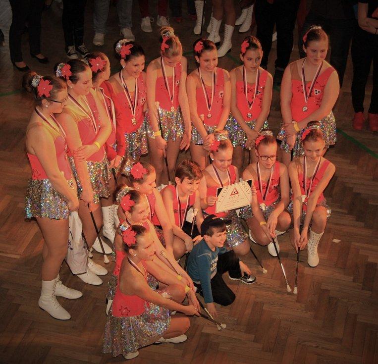 Oblastní kolo národního šampionátu mažoretek se konalo i v Benešov.