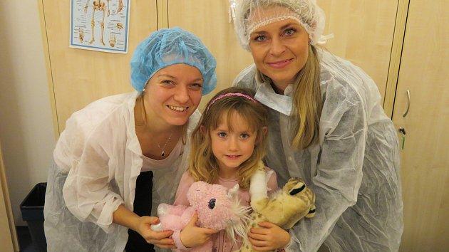 Projektový den 'Nemocnice pro plyšáky' v Mateřské škole MiniSvět v Mrači