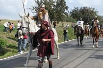 Svatováclavská legenda ožívá každoročně také v Louňovicích pod Blaníkem.