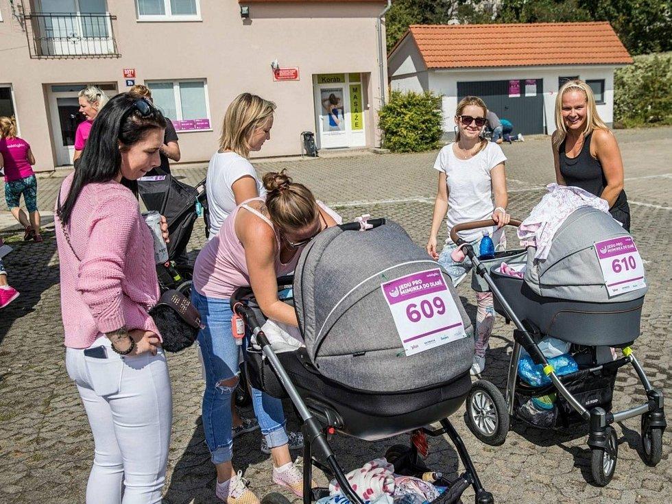 Z předešlých ročníků celorepublikové akce Běh a procházka pro miminka do dlaně.