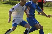 Miroslav Pavlík (vpravo) proměnil penaltu.