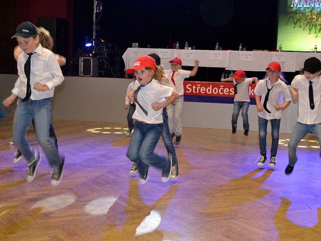 Středočeský taneční pohár - soutěž.