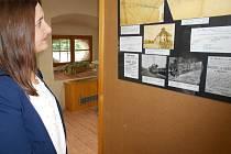Výstava 150 let železnice na Podblanicku ve Spolkovém domě v Olbramovicích.