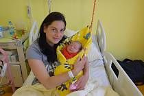 Tereza Prančlová se manželům Adéle a Michalovi narodila v benešovské nemocnici 4. května 2021 ve 20.41 hodin, vážila 3280 gramů. Doma v Lešanech má sestřičku Sáru (5).
