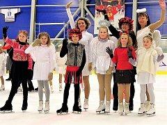Ve Vlašimi dělají rekreační krasobruslení se dvěma vystoupeními - Na Mikuláše a na konci sezony.