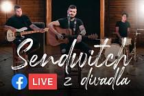 Zveme vás na sobotní online křest nové desky kapely Sendwitch v poděbradském Divadle Na Kovárně.