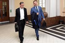 David Rath u Vrchního soudu v Praze v pondělí 10. června 2019.
