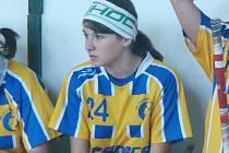 Nejlepší hráčkou na hřišti v duelech dorostenek Benešova byla bezesporu Aneta Perná.
