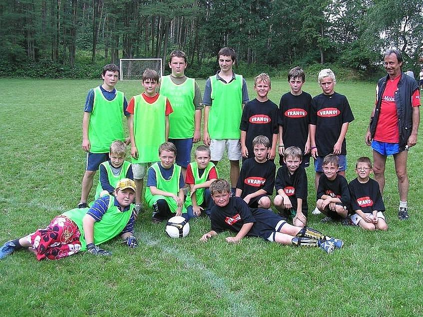 Nejmladší fotbalisté Vranova