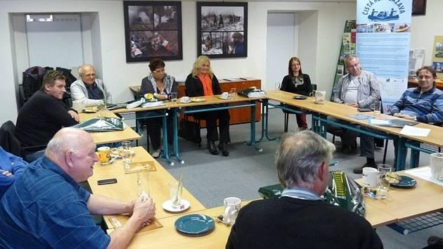 Zástupci Mikroregionu Hlinické Pohronie navštívili například Teplýšovice.