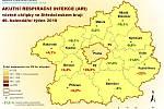 Akutní respirační infekce ve Středočeském kraji 49. týden