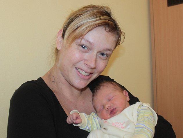 Kamila Matějovská a Pavel Říha z Benešova se 4. ledna v 14.40 stali rodiči prvorozené dcery Elly. Sestřičky v porodnici jí navážily 3,37 kilogramu a naměřily 47 centimetrů.