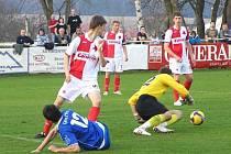 Graffin Vlašim - Slavia Praha B 2:0
