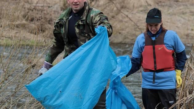 Akce Čistá řeka Sázava se v letošním roce konala již pojedenácté.
