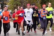 V Nedrahovicích se běžel první podzimní běžecký závod.