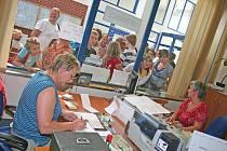 Dopravní kancelář na mělnickém autobusovém nádraží 31. srpna 2009.