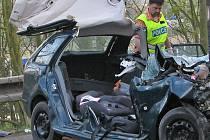 Čtvrteční úmrtí spolujezdkyně na silnici I/3 u Pyšelky je letošní jedneácté na Benešovsku. Ilustrační foto.