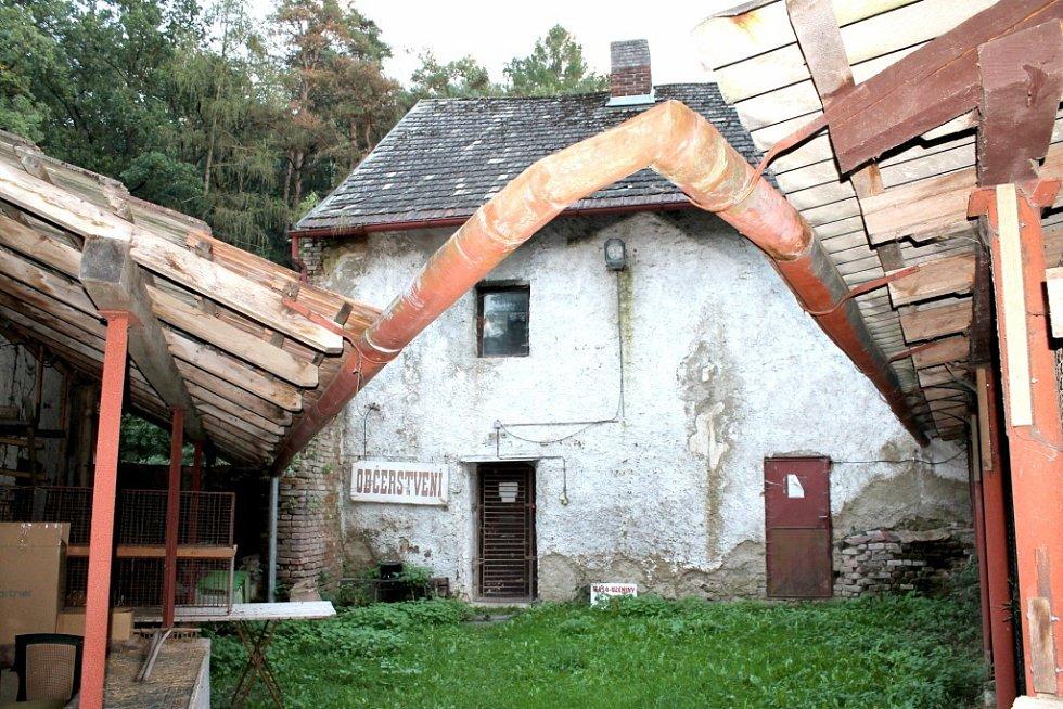 Rosův mlýn u Benešova.