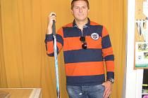 Jan Srdínko – šéftrenér hokejové mládeže v Benešově.