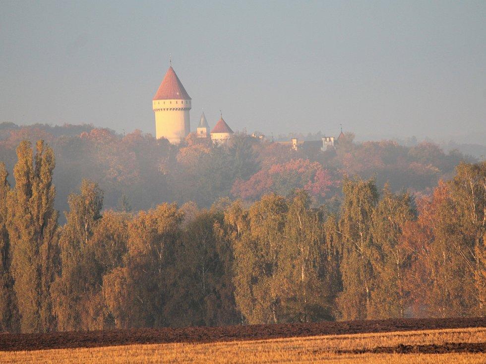 Zámek Konopiště na Benešovsku.