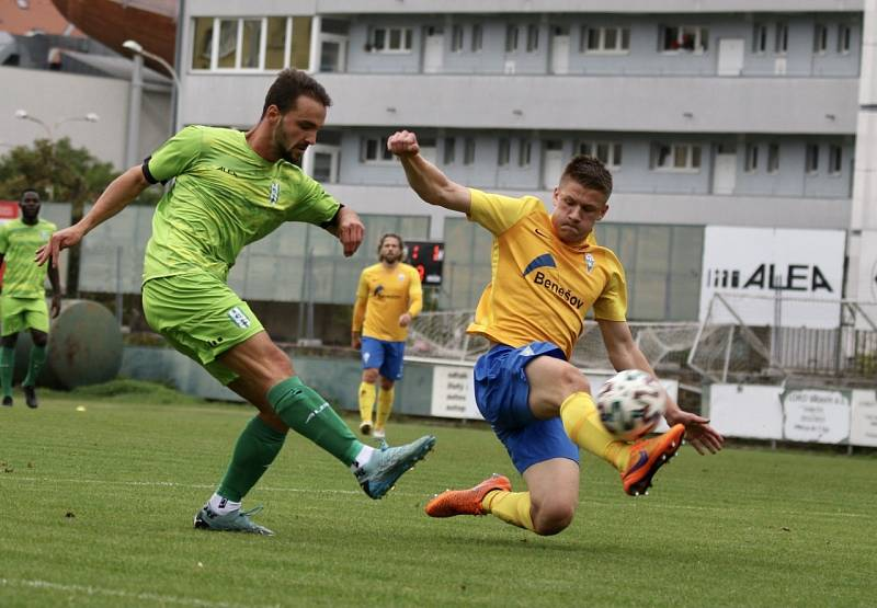 Benešov se dočkal první výhry na půdě Loko Vltavín.