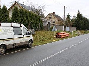 Rekonstrukce dešťové kanalizace v Jarkovicích