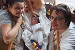 Manželé Šárka a Daniel Suchanovi z Benešova se 21. prosince v 20.42 stali rodiči prvorozené dcery Magdalény. Na svět přišla s váhou 3,94 kilogramu a mírou 50 centimetrů.