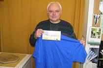 Miroslav Bubeník z Benešova, bývalý trenér mládežnických fotbalistů Benešova, kraloval v 7. kole a získal stokorunovou poukázku od sázkové kanceláře Fortuna a tričko.