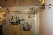 Tvoření z drátků doplňovalo aktuální výstavu ve vlašimském Muzeu Podblanicka.