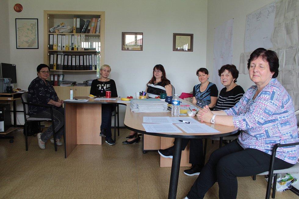 Volby do Evropského parlamentu v Chlístově.
