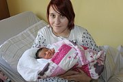 Holčička Sophia Fialová se narodila 6. března ve 12.25. Po narození vážila 3170 gramů a měřila 49 centimetrů. Rodiče Vendula Bolenová a David Fiala si své prvorozené  miminko odvezou do Vlašimi.