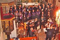 Novoroční koncert potěšil všechny milovníky Rybovy Mše vánoční. V Chotýšanech tak zakončili období vánočních svátků.