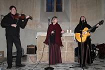 Vánoční koncert Two Voices v Ledcích.