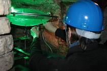 Experimenta v radničním podzemí v Benešově.