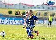 Finále Ondrášovka Cupu pro kategorii do 10 let hostil stadion v Benešově.