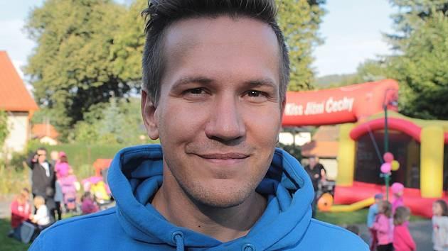 Roman Anděl, moderátor rádia Kiss Jižní Čechy.
