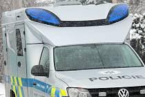 Nový výjezdový vůz benešovských policistů.