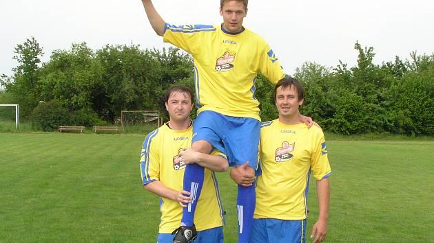 Střelec David Helma z Mezna se stal hvězdou měsíce května projektu Gambrinus Kopeme za fotbal.