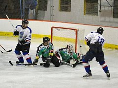 Hokejisté Vlašimi zvítězili po nájezdech s Příbramí.