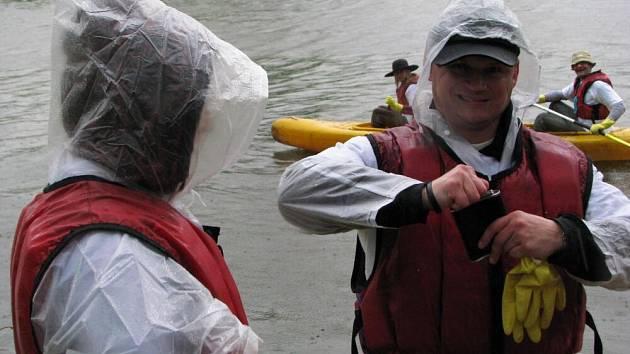 Čistá řeka Sázava 2009