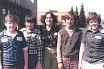 Osmdesátá léta v Základní devítileté škole v Týnci nad Sázavou.