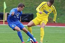 Vlašim vyhrála ve Varnsdorfu nejtěsnějším rozdílem 1:0.