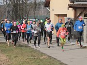 Běh na Čerčanský Chlum 2016 - odstartováno.
