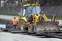 Železniční přejezd v Sedlčanech je kvůli rekonstrukci uzavřený.