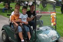 Dětský den v konopišťském golfovém resortu