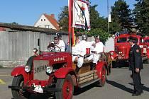 Oslavy 10. výročí zprovoznění profesionální požární stanice v Sedlčanech.