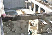 Stavba komunitního domu s kostelem, který bude součástí Hospice Dobrého Pastýře.