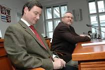Spolupráce Davida Ratha a Petra Hostka v jednom úřadu traval dva a půl roku.